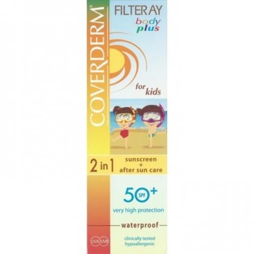 Coverderm Filteray Body Plus for Kids SPF50 100ml