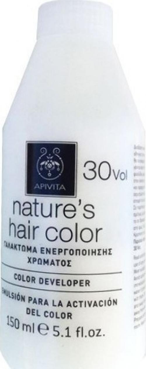 Apivita Nature's Hair Color Professional 30 Volume Γαλάκτωμα Ενεργοποίησης Χρώματος 150ml