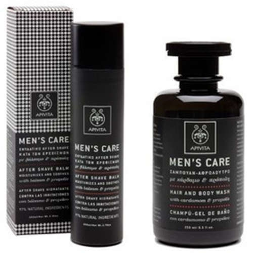 Men's Care ΠΑΚΕΤΟ ΠΡΟΣΦΟΡΑΣ με After Shave Balm 100ml ΜΑΖΙ με Hair & Body Wash Σαμπουάν - Αφρόλουτρο 250ml