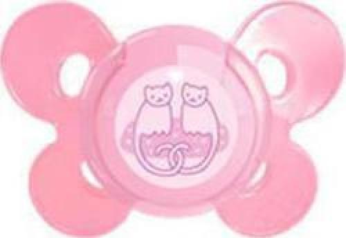 Chicco Physio Comfort Ροζ , Σιλικόνη με Θήκη 4m+ 1τμχ