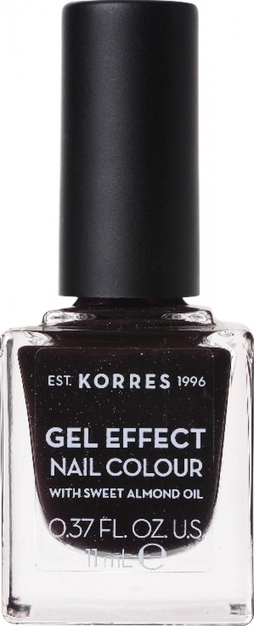 Gel Effect Nail Colour 77 Sequins Plum 11ml