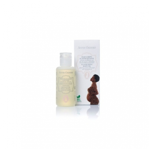Anne Geddes Elasticizing Body Oil Βιολογικό Λάδι ελαστικότητας & προετοιμασίας θηλών, 125ml