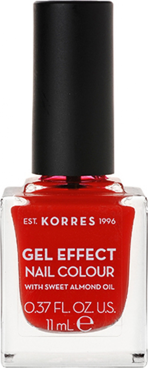 Gel Effect Nail Colour 48 Coral Red 11ml