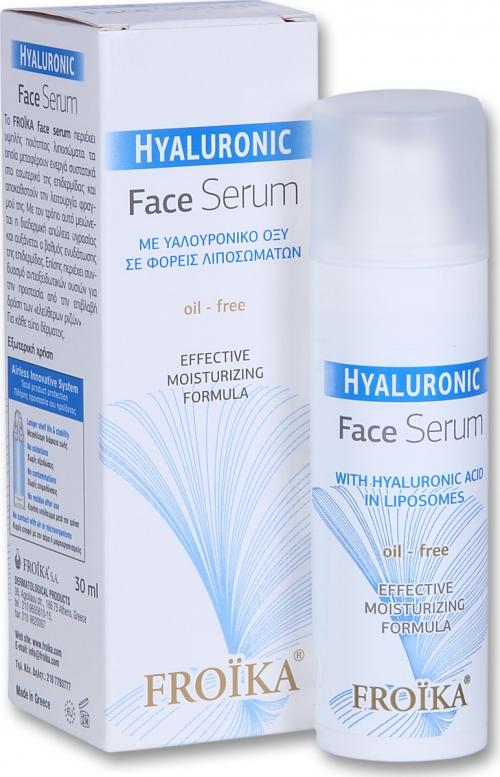 Hyaluronic Face Serum Ορός Προσώπου με Υαλουρονικό Οξύ 30ml