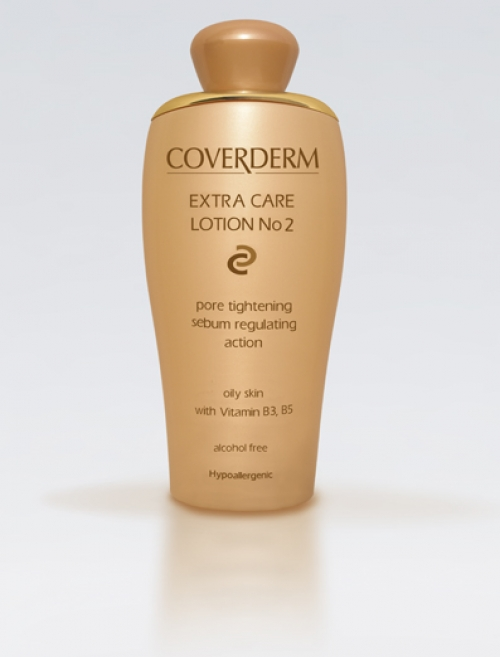 COVERDERM Extra Care Lotion No2 oily skin 200ml