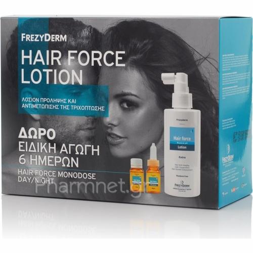 Hair Force Λοσιόν 100ml + ΔΩΡΟ Hair Force Monodose Ειδική Αγωγή 6 Ημερών