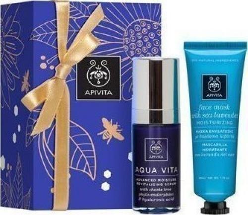 Face Hydration Set Aqua Vita Serum 30 ml & Face Mask Sea Lavender 50 ml