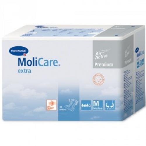 MoliCare Extra - Medium,30 τμχ : Πάνες για βαριά και οξύτατη ακράτεια ούρων ή / και κοπράνων.