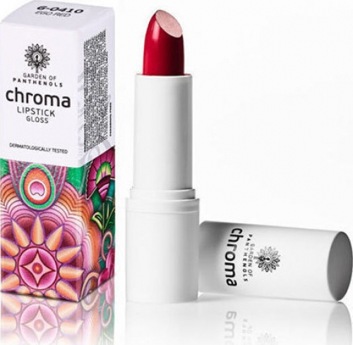 Chroma Lip Stick Gloss G-0410 Ego Red 4gr