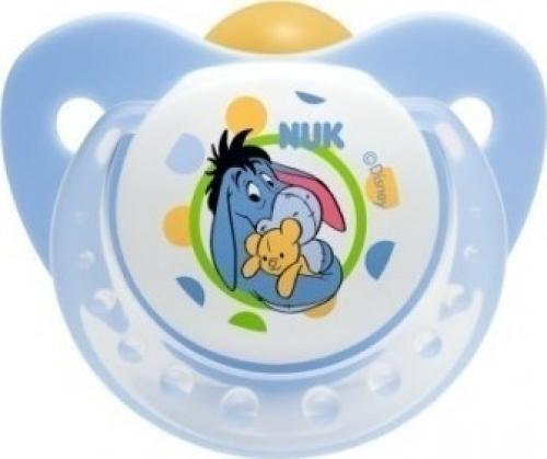 Nuk Trendline Disney Καουτσούκ Γαλάζιο 6-18m 1τμχ