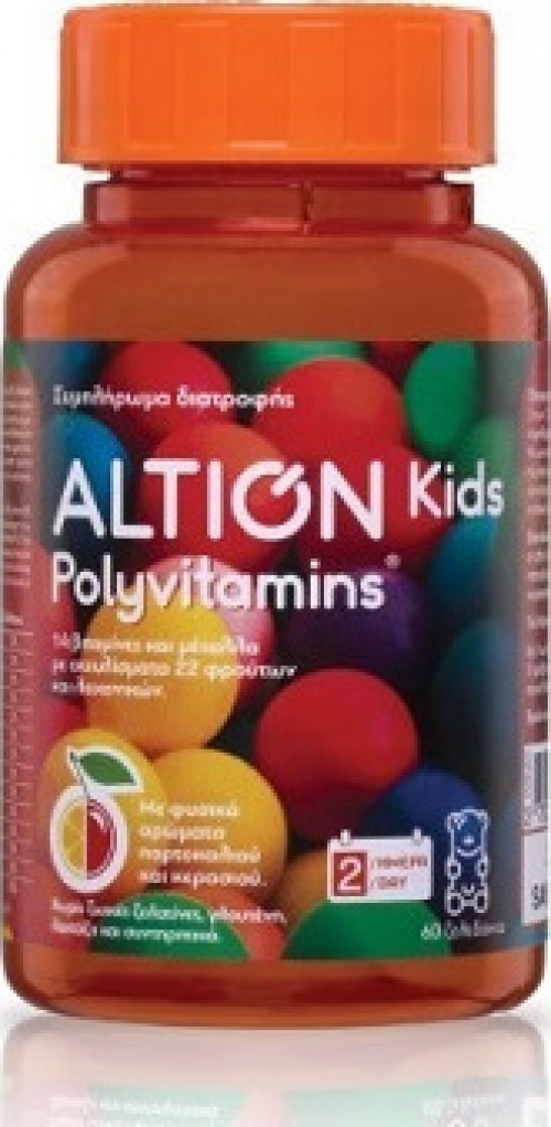 Polyvitamins 60 μασώμενες ταμπλέτες