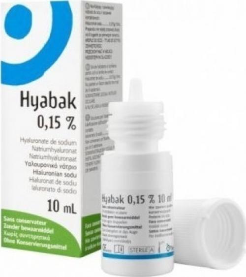 Thea Synapsis Hyabak Eye Solution 0.15% 10ml