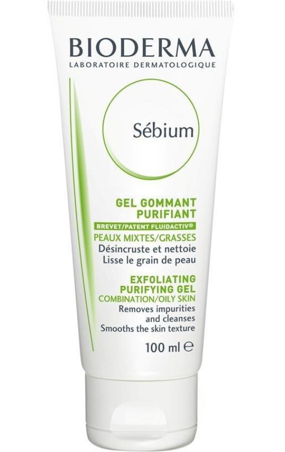 BIODERMA SEBIUM GEL GOMMANT / Exfoliating gel Αφρίζον gel καθαρισμού και απολέπισης