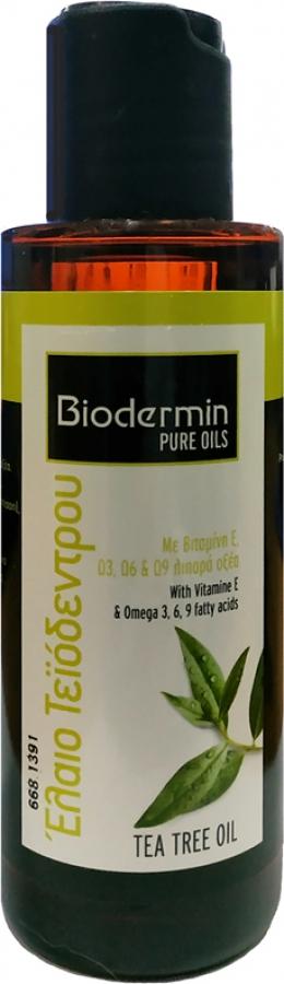 Biodermin Pure Oils - Έλαιο Τεϊόδεντρου 120ml