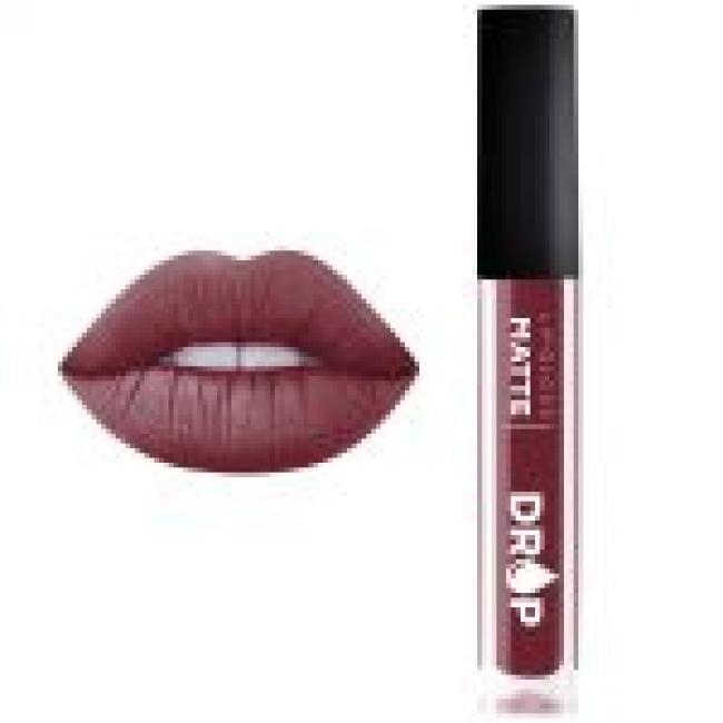 Drop Lipstick Liquid Lip Matte 505 (Sangria)