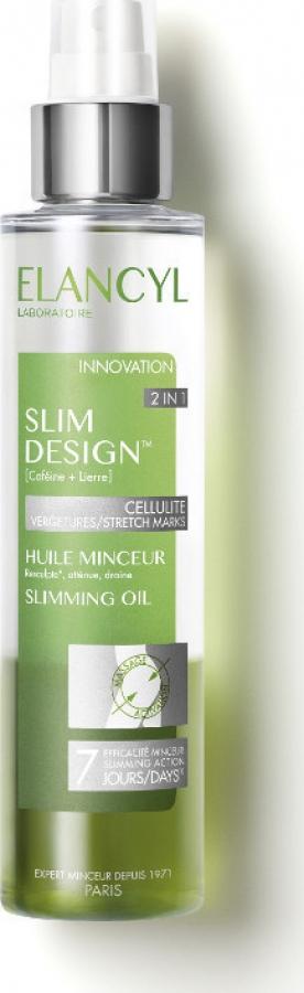 Elancyl Slim Design Huile Minceur 2in1 Διφασικό Έλαιο Αδυνατίσματος Κατά της Κυτταρίτιδας-Ραγάδων 150ml