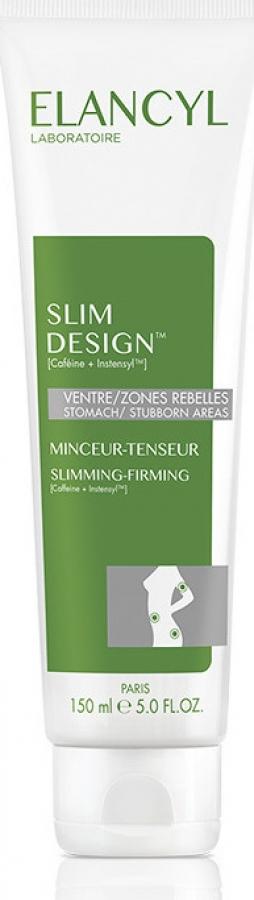 Elancyl Slim Design Minceur Tenseur Κρέμα Αδυνατίσματος και Σύσφιγξης για την Κοιλιά, Χέρια και Γλουτούς 150ml.