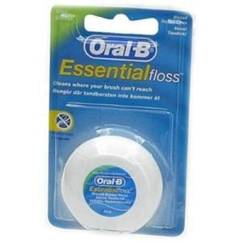 Oral-B Dental Essential Floss Ακήρωτο Οδοντικό Νήμα 50m
