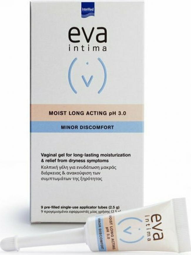 Intermed Eva Moist Long Acting pH 3.0 2.5gr x 9τμχ