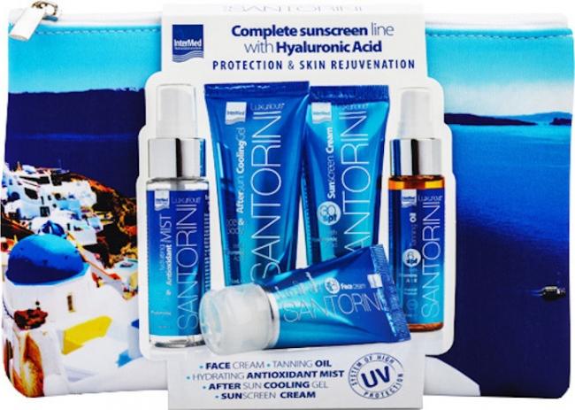 Intermed Luxurious Santorini Suncare Hydrating Πακέτο Promo Set Καλοκαιρινό Σετ Αντιηλιακής Προστασίας & Ενυδάτωσης