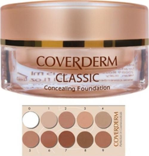 Coverderm Επικαλυπτικό Make-up Classic Concealing Foundation N4 15ml.