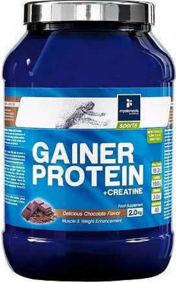 My Elements Gainer Protein Creatin Powder 2000gr Σοκολάτα