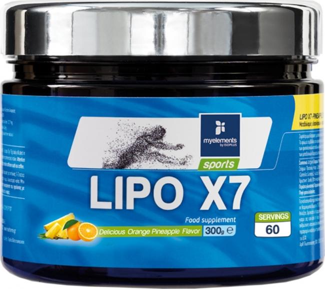 My Elements Lipo X7 Powder 300gr Orange Pineapple