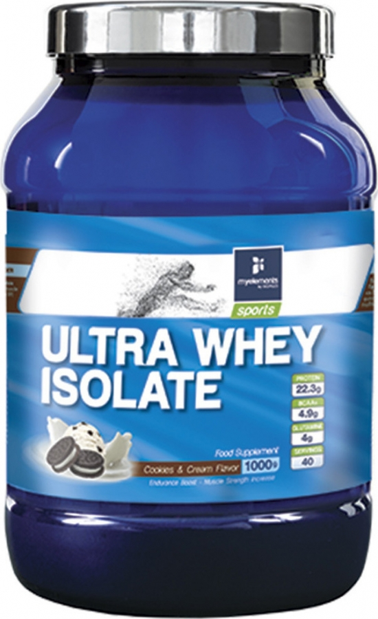 My Elements Ultra Whey Isolate 1000gr Cookies & Cream