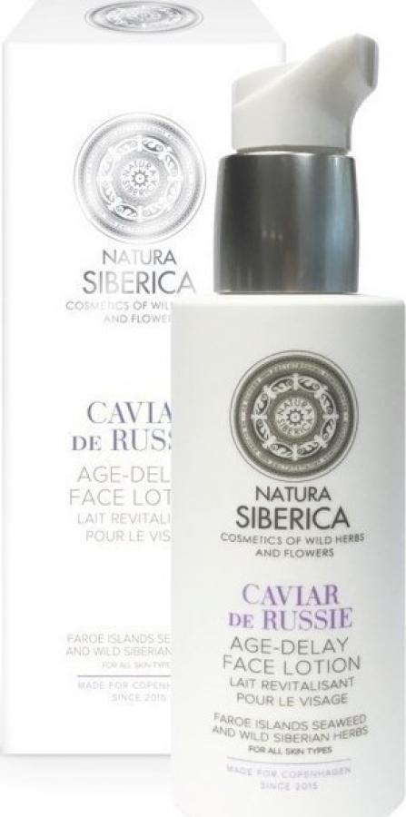 NATURA SIBERICA CAVIAR DE RUSSIE AGE - DELAY FACE LOTION 200ML