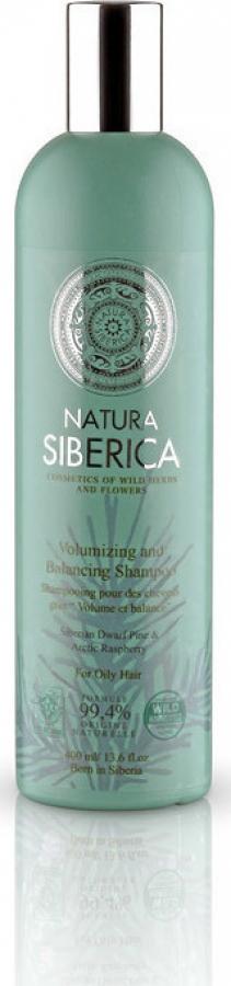 Natura Siberica Volumizing and Balancing Shampoo Όγκο και Εξισσορόπηση για Λιπαρά Μαλλιά 400 ml